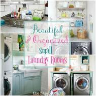 Beautifully Organized Small Laundry Rooms Happy Housie