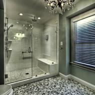Bedroom Bathroom Dazzling Walk Shower Designs
