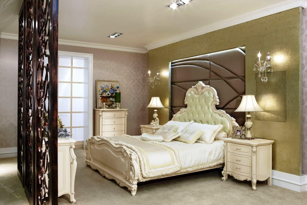 Bedroom Luxurious Interior Design European Style Decoratorist 86836
