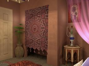 Bedroom Moroccan Style Furniture Interior