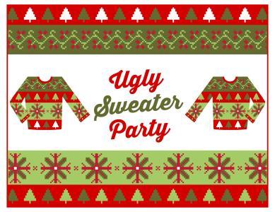 Bergen Linen Host Ugly Sweater Party