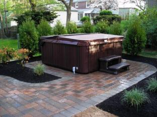 Best Backyard Hot Tubs Ideas Tub Patio