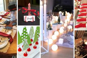 Best Diy Christmas Table Decoration Ideas 2018
