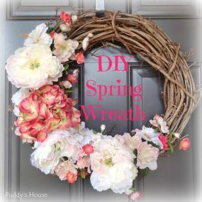 Best Diy Spring Wreath Ideas Designs 2018