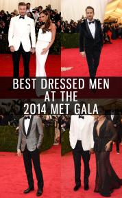 Best Dressed Men 2014 Met Gala Gotstyle