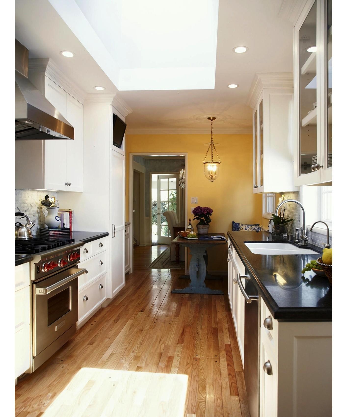 Best Galley Kitchen Designs Efficient Small   Decoratorist ...