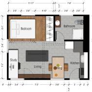Best Tiny Apartment Floor Plans Plan