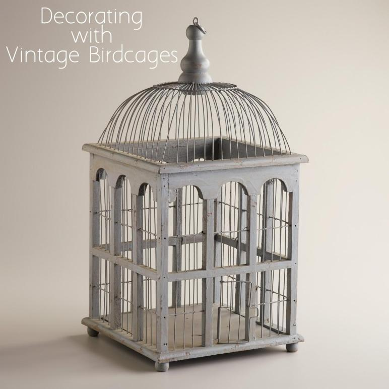 Birdcages Hot Decorative Trend