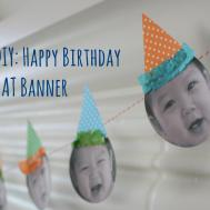 Birthday Party Banners Diy Inspiration Cake