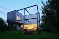 Black Cube House Poland Tailored Modern Family