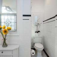 Black White Art Deco Bathroom Photos