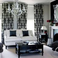 Black White Gold Living Room Ideas Pixshark