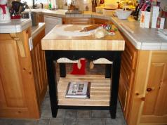 Block Kitchen Table Features Decor Trends Classy