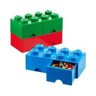 Blue Large Lego Storage Drawer Container Store