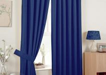 Blue Sheer Curtains Car Interior Design