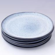 Blue Speckled Handmade Ceramic Dinnerware Set