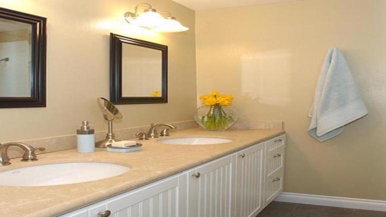 Blue Yellow Bathroom White Bathrooms