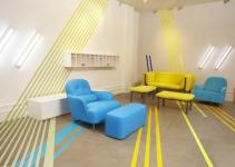 Blue Yellow Interior Design
