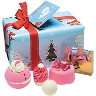 Bomb Cosmetics Wrapped Christmas Xmas Gift Pack Set