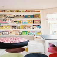 Bookcase Kids Room Cozy Reading Corner
