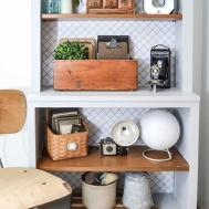 Bookshelf Makeover Plain Custom Bookshelves