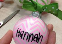 Bows Pearls Sorority Girls Diy Ornaments
