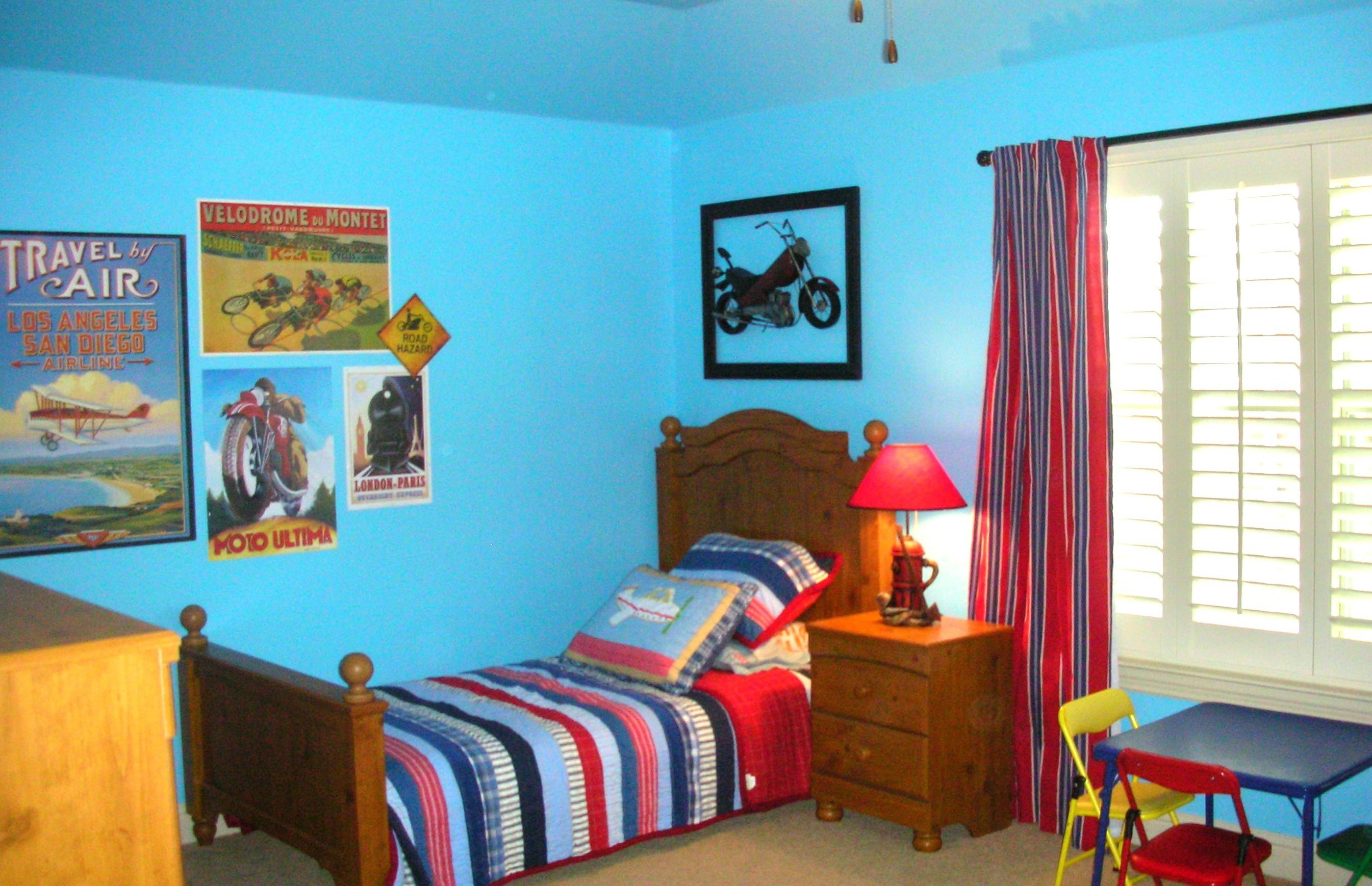 Image of: Boys Room Paint Ideas Imanada New Kids Bedroom Blue Decoratorist 63478