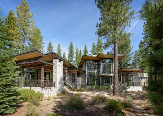Breathtaking Modern Mountain Retreat Rustic Nuances