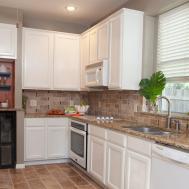 Brick Backsplashes Kitchens Room Design Ideas