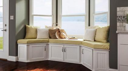 Brilliant Design Ideas Window Seat Storage