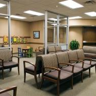 Brown Color Chairs Medical Office Waiting Room Ideas