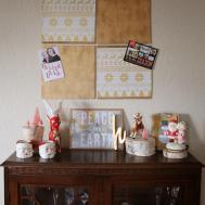Buggie Jellybean Diy Christmas Cork Board Card Holders