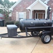 Building 175 Gallon Bbq Smoker Plasma Cutter