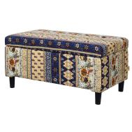 Bungalow Rose Astral Upholstered Storage Entryway Bench