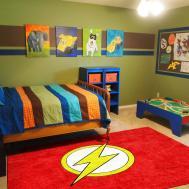 Buy Flash Super Hero Children Rug Rats