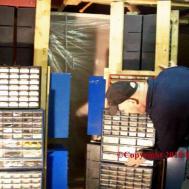 Byo Diy Electronic Parts Cabinet Storage Bin System