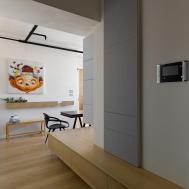 Caf Like Atmosphere Exuded Original Apartment