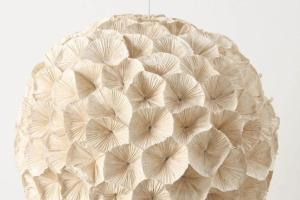 Can Live Without Paper Flowers Chandelier
