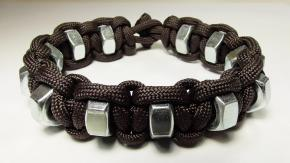 Can Make Simple Hex Nut Paracord Survival