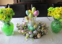 Candles Modern Easter Table Decorations Easy Decor Ideas