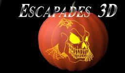 Carved Halloween Pumpkins Model Obj Fbx Mtl