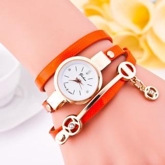 Casual Leather Bracelet Wristwatch Shemale Shop