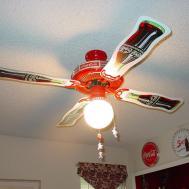 Ceiling Fan Ideas Astonishing Coca Cola