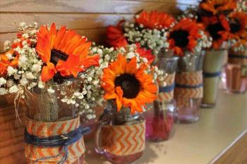 Centerpiece Ideas Diy Your Pics Table Easy Theme Party