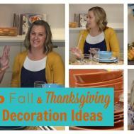 Cheap Fall Thanksgiving Table Diy Decoration Ideas
