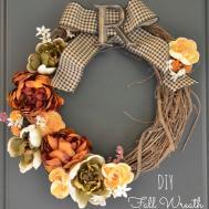 Chic Cheeky Diy Fall Wreath