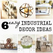 Chicbytab Easy Industrial Decor Diy Ideas