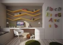 Child Room Storage Furniture Designs Ideas Plans