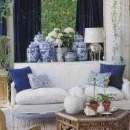 Chinoiserie Chic History Blue White Porcelain