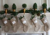 Christmas Decor Ideas Burlap Know